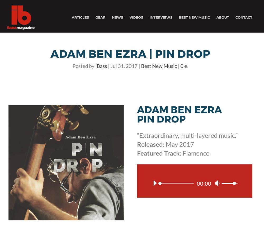 iBass Magazine - Adam Ben Ezra