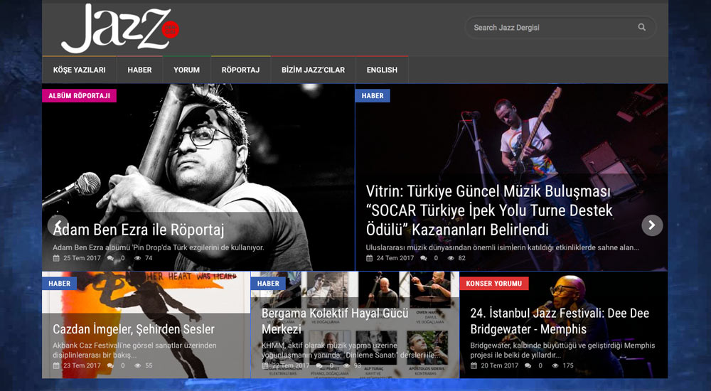 Jazz Dergisi, Turkey