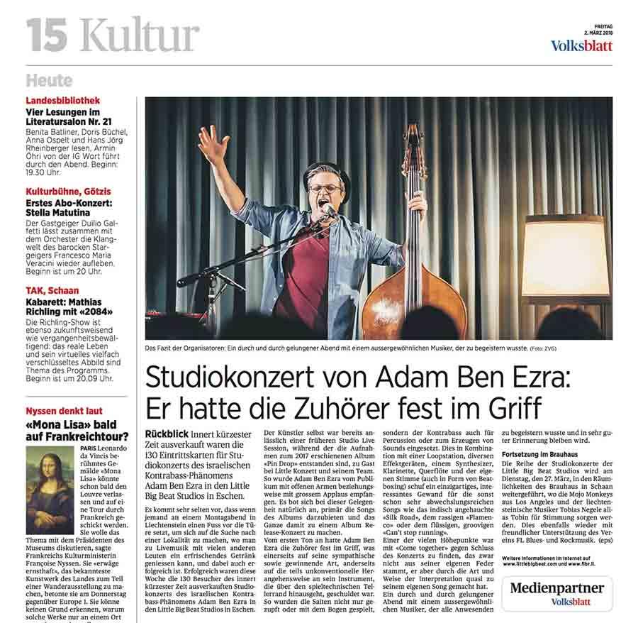 Kultur Volksblatt